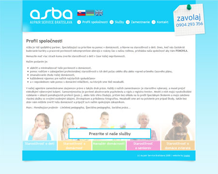 asba - au pair service Bratislava