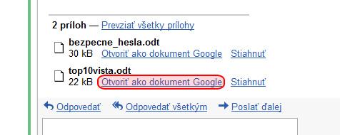 gmail-odt-riesenie