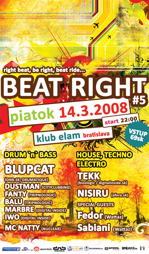 beat right 5 flyer