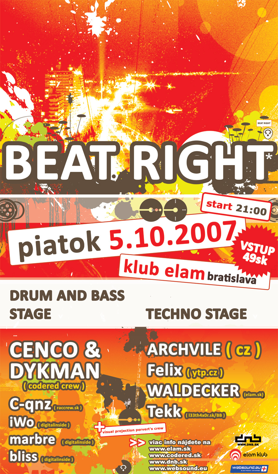 flyer - beat right