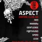 Nová drum and bassová noc v Bratislave – Aspect