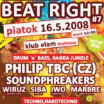 Beat Right #7 – flyer