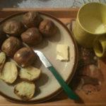 Krumple v šupke